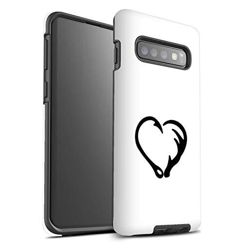 eSwish Phone Case/cover/Skin/SG-3DTBM / Cartoon Poly(FRan Princess Collection Samsung Galaxy S10 Magische vishaak hart