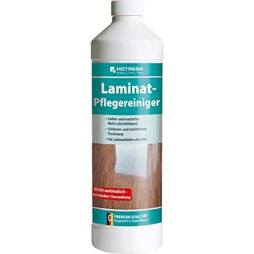 HOTREGA Laminat Pflegereiniger Konzentrat 1 Liter - Profi Laminatboden-Reiniger