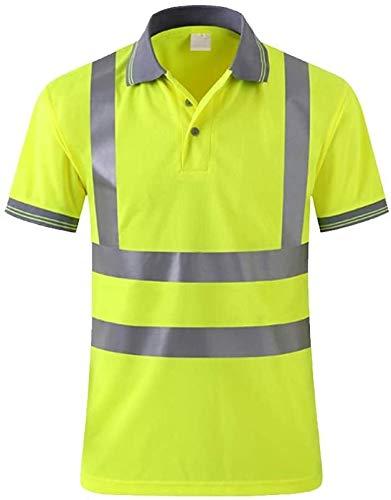 samantha Sicherheitsweste Reflektierende T-Shirt Westen Sicherheit Schutzweste Verkehrsausfall Reisen in der Nacht Fluoreszierende Kleiderjacke