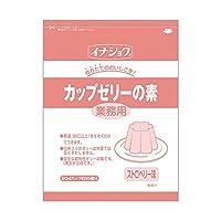 【常温】 伊那食品 カップゼリーの素 ストロベリー 600g 業務用 カップ ゼリーの素
