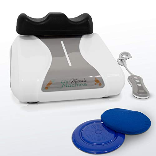Chi Miracle Vitality Machine, Electric Back Massager, Passive Aerobic Oxygen Exercise, Weight Loss, Back Pain and Fibromyalgia Relief, Flexible Spine, Increased Circulation, Swollen Ankles, Massage