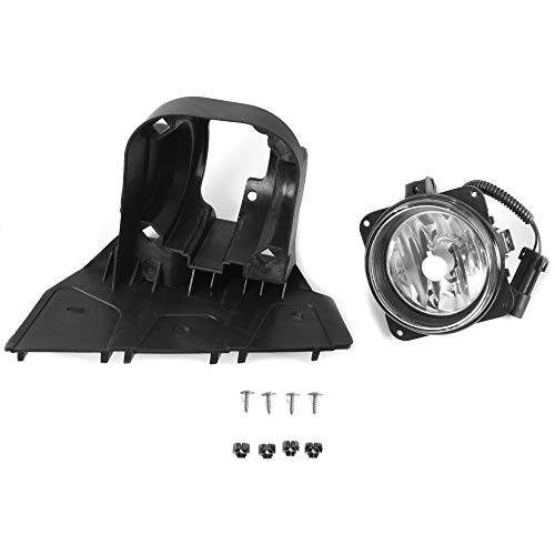 Right Passenger Side Fog Light Lamp Compatible with 2000-2004 Ford F-150 Harley Davidson Edition Models Replacement for 3L3Z-15200-A