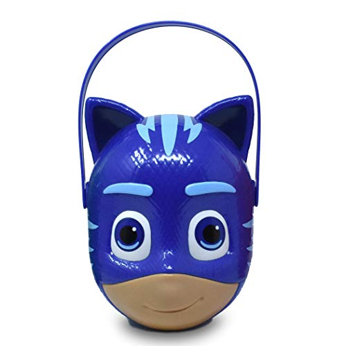 PJ Masks Catboy – Character Bucket – Children's Halloween Trick or Treat Candy and Storage Pail