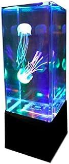 MIRACLE 3色 LED 卓上 アクアリウム (ブラック) シリコン クラゲ 2匹 付き MC-JELLY-BK