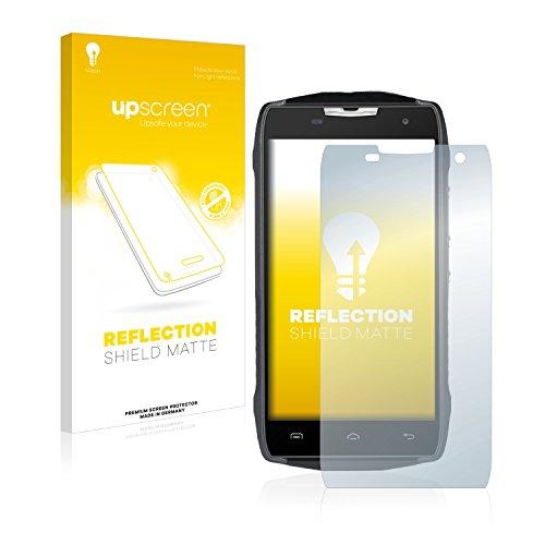 upscreen Entspiegelungs-Schutzfolie kompatibel mit Doogee T5 – Anti-Reflex Bildschirmschutz-Folie Matt