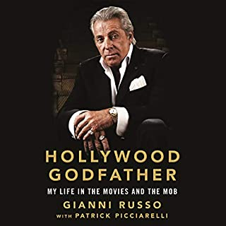 Hollywood Godfather audiobook cover art