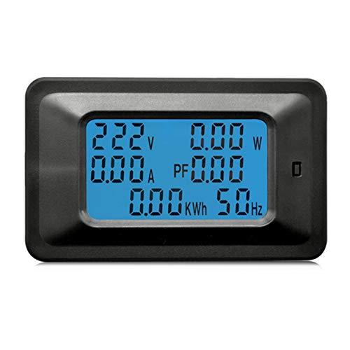 YXDS 100A AC LCD Pannello Digitale Potenza Watt Meter Monitor Voltmetro Amperometro Tensione Corrente Tester per elettrodomestici