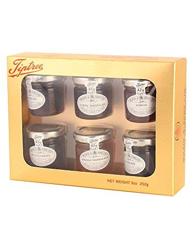 Tiptree Wilkin & Sons Gold Geschenkpackung mit 6 x 42 g Marmelade und Konfitüre