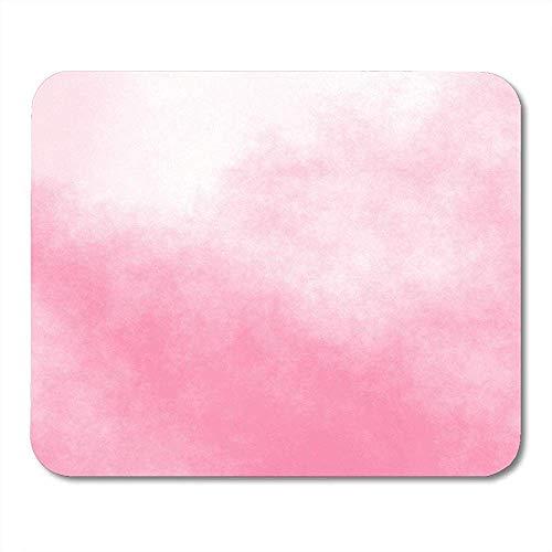 Muiskussentjes Rook Roze Aquarel Abstract Meisje Vrouwelijke Inkt Patroon Airbrush Mouse pad 25X30cm