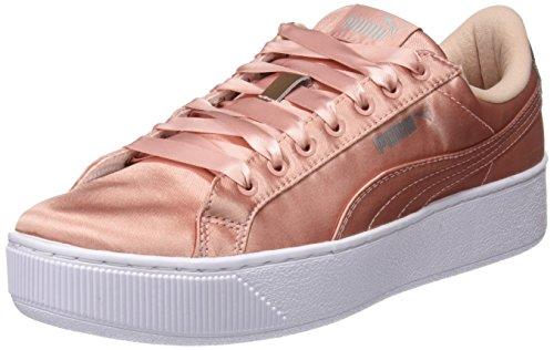 PUMA Damen Vikky Platform EP Sneaker, Beige (Peach Beige), 38.5 EU