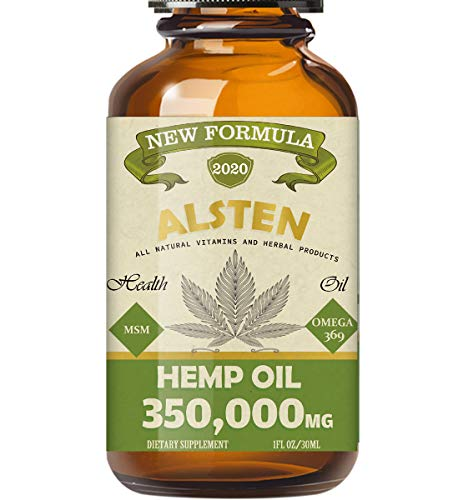 TOPNaturePlus 5000MG Hemp Oil, Hemp Oil Drops for Pain Relief, Stress, Anxiety and Sleep.