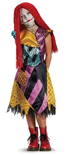 Disney Sally Nightmare Before Christmas Deluxe Girls' Costume