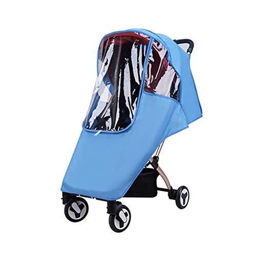 Housse de pluie pour poussette Poussette for enfants pluie poussette parapluie pluie Universel Couverture bébé Chariot coupe-vent pluie couverture 3 couleurs pour poussette poussette Buggy Pram