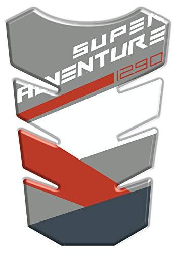 Motocicleta Gas Pantalla//Dep/ósito de Combustible de Goma Tankpad Pantalla adhesivo para K.T.M Super Adventure 1290 v3
