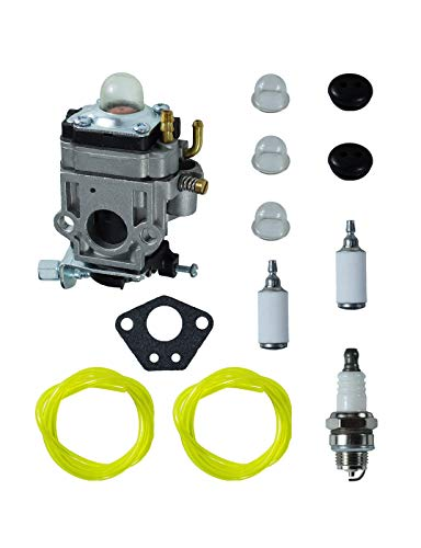 WYK-123 Carburetor Tune-up Kit Replaces WYK-123-1 and T401281000 521832701 for Redmax EB4300, EB4400, EB431, EB7000 & EB7001 Backpack Blowers