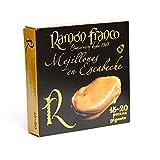 Mejillones En Escabeche En Aceite De Oliva 15/20 Piezas Gigantes, «Ramón Franco» 266g