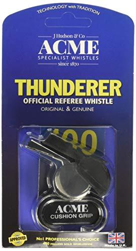 ACME Thunderer Fingerpfeife aus Metall, vernickelt (477/58,5), groß