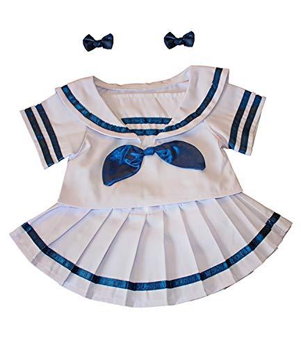 Vêtement Pour Ours Peluche Ensemble Marin Fille