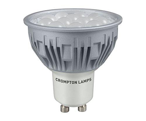 Crompton Ampoule LED GU10 5 W à intensité variable Lumière du jour