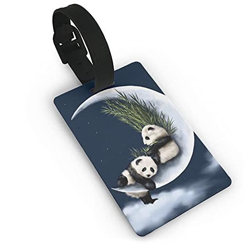 Etiqueta Para Equipaje Panda  marca HNyysm