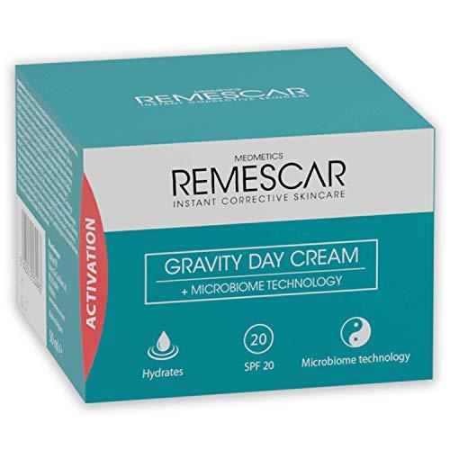 Remescar gravedad Crema de Día - SPF 20 - Boost colágeno y elastina para mejorar la piel Firmeza - reducir los signos visibles del envejecimiento - microbioma Tecnología