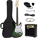 Best Choice Products 39in Full Size Beginner Electric Guitar Starter Kit with Case, Strap, 10W Amp,...