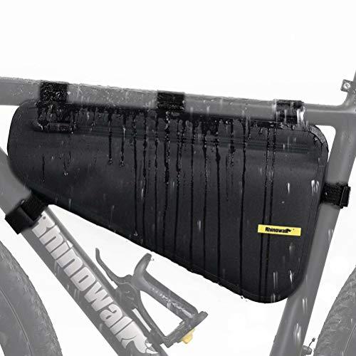 Rhinowalk Fahrrad Rohrtasche Rahmentasche Triangeltasche Wasserdicht Dreieck Fahrradtasche für Mountainbike Rennrad