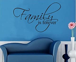 Dailinming Family Is Forever/Hot Selling In Ebay/Removable Wall Decals /Waterpoof Wall Sticker/Vinyl Sticher 45X27CM