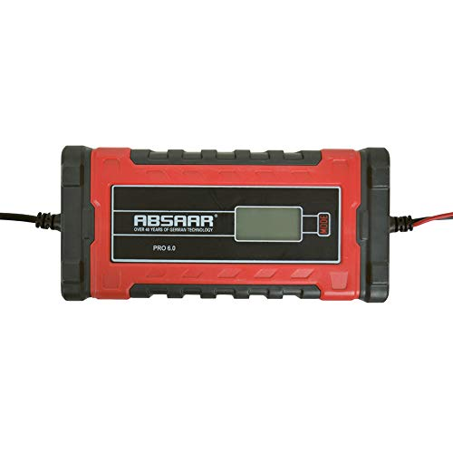 Absaar 0635676 Smart Chargeur Pro 6.0 6A 12/24V, Rouge