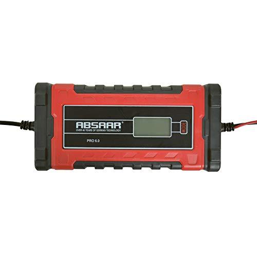 Absaar 062077 Pro Batterieladegerät, 6/12 V