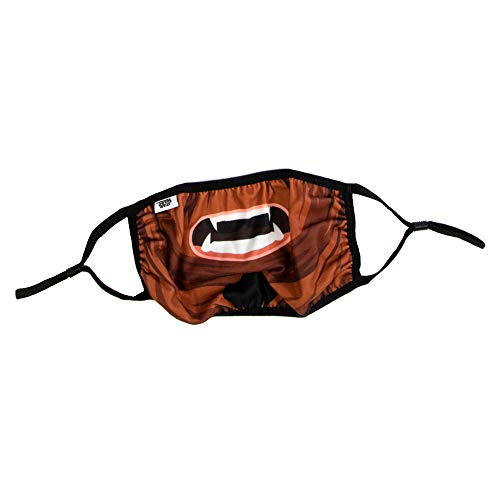 Star Wars Chewbacca Character Big Face Adult Face Mask