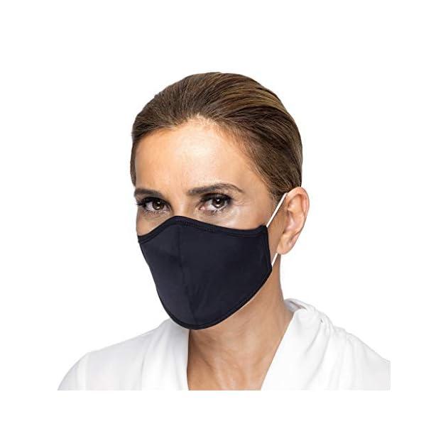 Guria Fashion Protective Cloth Face Mask, Washable Reusable Spandex Fabric –...