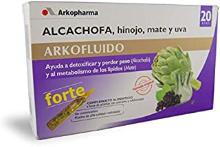 Arkopharma S.A Laboratorio Farmaceutico - Ampollas alcachofa con hinojo, mate y uva arkopharma