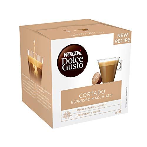 Caffe.com - Nescafè(R) Capsule Original-Getränke Dolce Gusto Cortado - 16 Kapseln