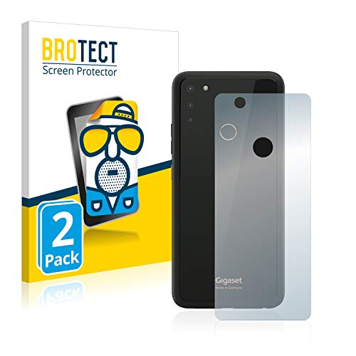 BROTECT 2X Entspiegelungs-Schutzfolie kompatibel mit Gigaset GS4 (Rückseite) Bildschirmschutz-Folie Matt, Anti-Reflex, Anti-Fingerprint