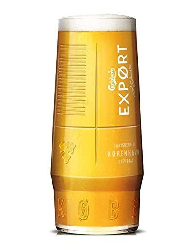 Verre à bière personnalisé avec votre propre gravure pour Carlsberg Export