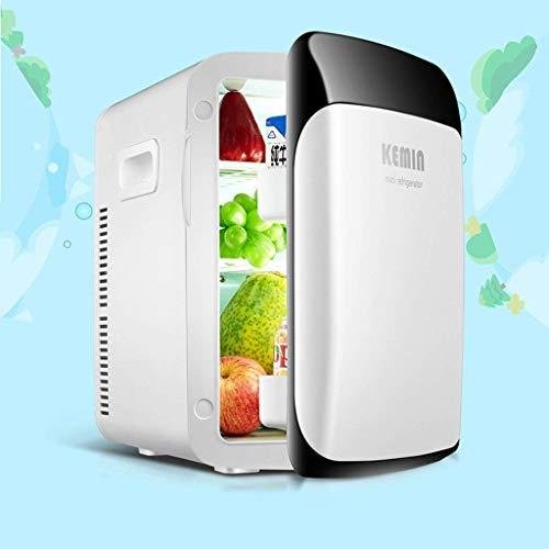 Doppelkern-Kühlschrank, 15 l, für Auto, Zuhause, Doppelkühlschrank, Gefrierschrank, kleine Haushaltskühlung