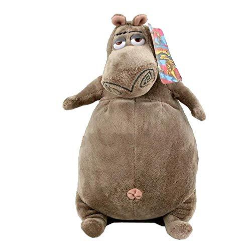 shenlanyu Juguete de Peluche Dibujos Animados Madagascar Gloria Plush Toy, Hippo Baby Gift, Kids Doll 38cm Hippo Plush