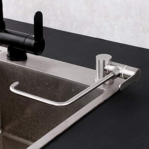"Acero inoxidable 304, grifo cocina osmosis abatible, grifo cocina y osmosis, ventana interna plegable, grifo,1/2""o 1/4""-Grifo puro plegable en ángulo recto"