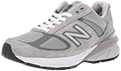 Heritage Style: The 990v5 is an iconic sneaker, built with a pigskin and mesh upper in a classic running silhouette designed to look amazing anywhere from morning run to runway Cushioned Support: The ENCAP midsole technology in these cushioned runnin...