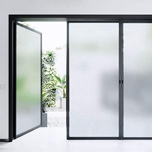 LMKJ Película de Vidrio de privacidad Opaca esmerilada, Pegatina de Vidrio autoadhesiva electrostática, película de decoración del hogar del Dormitorio de la Sala de Estar A49 30x200cm