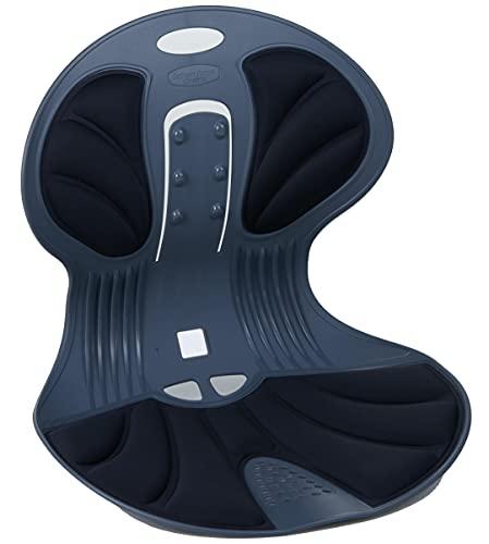 DCT 姿勢を正す 天使の椅子   姿勢矯正イス   てこの原理を利用した高弾力素材_(BK)ブラック