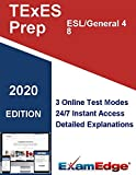 TExES English as a Second Language (ESL)/Generalist 4-8  (120) Certification Practice tests with detailed explanations. 10-Test Bundle with 1000 Unique Test Questions