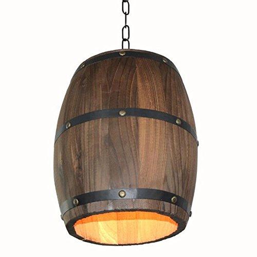 HYL American antikes Holz Pendelleuchte h?lzern Lampe pers?nlich kreativ leuchten Restaurant Living...