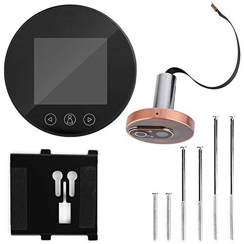 Kijkgaatje, 3,2 inch Intelligente elektronische 720P HD video kijkgaatje deurbel met ronde beveiliging en wit licht en nachtzicht