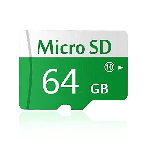 Bellesd - Tarjeta de memoria MicroSD de calidad clase 10, 256 GB, tarjeta MicroSD de capacidad completa 64 GB