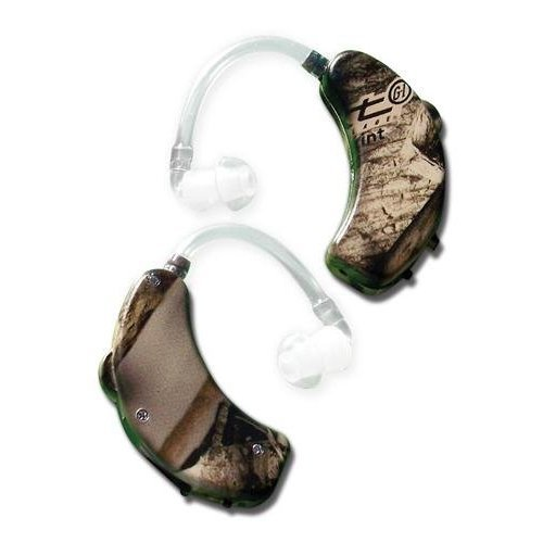 GSM Outdoors GWP-UE1001-NXT2PK Walkers Game Ear Ultra Ear (BTE), Camouflage (Pack of 2)