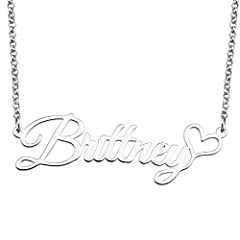 Our semi-custom name necklace initials has always been capitalized. We have more than 500 personalized semi-custom necklaces with names that can be given to women, mothers, grandmothers, wives, girlfriends, loved ones or special gifts for themselves ...