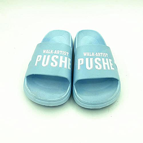 LLGG Zapatos de Playa Piscina Unisex Adulto,Cámara Gruesa, Pareja, Arena, baño, Cremalleras.-Azul Claro_39,Zapatillas Interior Piso