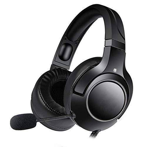 Auriculares de juegos de gama alta, auriculares PS4, Auriculares de Xbox One, Auriculares de PC, 3,5 mm Surnero SERREO KOPFHOUML; RER Con Micrófono Para Interruptor Nintendo, Camuflaje Blanco (Color: